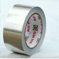 China electric industry self adhesive aluminium foil tape with solvent adhesive wholesale
