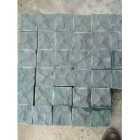 China Natural Exterior G684 Granite Paving Stones , Granite Stepping Stones wholesale