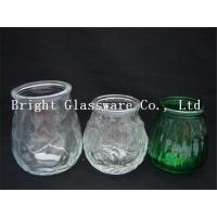 China different size glass candle container, candle jar, candle holder wholesale wholesale