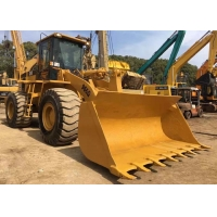 Construction 966G Used Caterpillar Wheel Loader Moving Type