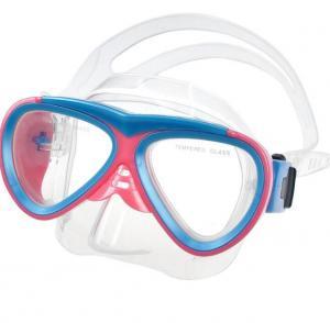 China Safety Kids Diving Goggles , Kids Prescription Snorkel Mask Customized Logo Printing wholesale