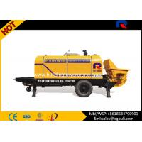 Quality Hydraulic Static Concrete Pump Equipment , Trailer Mounted Concrete Pump S Tube for sale