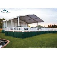 China European Style Custom Canopy With Wooden Flooring For Outdoor Event , Customized Tents wholesale