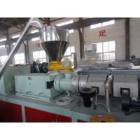 China WPC Machinery Wood Plastic Extrusion Lines For Indoor Decration Material wholesale