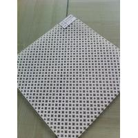 China  0.4 - 1.4mm Thickness Punched Perforated Metal Mesh For Curtain Wall , Ceiling Decoration  for sale