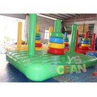 Quality Customized Color Inflatable Ring Toss Game Ring Toss Inflatable Challenge Games for sale