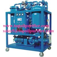 China Continuous steam turbine oil purifier plant,no pollution,strong emulsification,improve the turbine oil