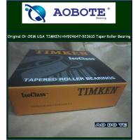 China CNC machine Timken Tapered Roller Bearing , Taper Roller Bearing HH923649 / HH923610 wholesale