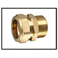 China Brass Compression Fittings for Copper Pipe on sale