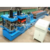 China Colored Steel Sheet Metal Roll Forming Machine With Hydraulic Cutter Machine  on sale