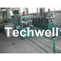 China 18 Groups Forming Roller Stand Upright Rack Roll Forming Machine for Storage Rack wholesale