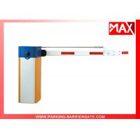 China Road Barrier Gate Straight Arm Manual Release Access  1400rmp Motor Rotational Speed on sale