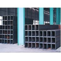 China Q195 Q235 Q345 Welded Square Steel Pipe / Structure Mild Steel Welding Tube ISO wholesale