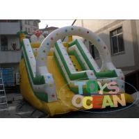 China Commercial Squirrel Inflatable Dry Slide 0.55mm PVC Vinyl Tarpaulin For Kids wholesale