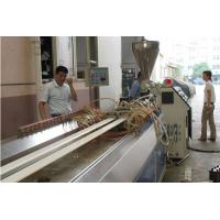 China Double Screw Plastic Profile Extrusion Line PVC Door and Frame Profile Making Machine wholesale