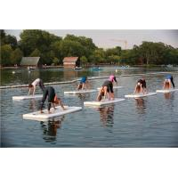 China Professional Yoga Floating Mat , Inflatable Floating Mat For Athletic Contest wholesale