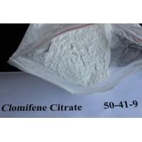 Quality Legal Oral Muscle Building Anti Estrogen Steroids Clomifene Citrate Powder Source 50-41-9 for sale