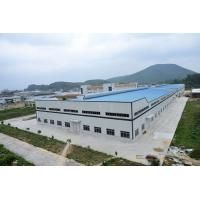China Wide Span Workshop Prefab Steel Structures With AWS And BS EN ISO Certificate wholesale
