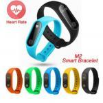 China IP67 Waterproof Heart Rate Monitor Fitness Tracker Bluetooth Band M2 Smart Bracelet Wristband wholesale