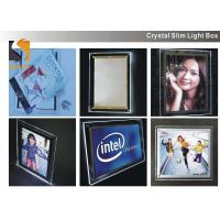Quality A3 Acrylic Advertising Light Box Display, Illuminated Menu Boards For Restaurants for sale