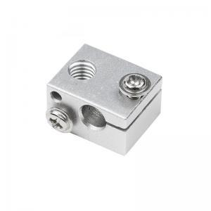 China 16mm*12mm*20mm Aluminum 3D Printer Heater Block V6 J Head wholesale