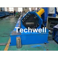 China 150 / 300mm Cable Tray Cold Roll Forming Machine With GI , Carbon Steel Raw Material wholesale