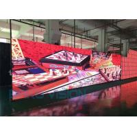 China Event Rental Mobile LED Screen Truss Hanging / Stacking Stage Backdrop 1200 Nits wholesale