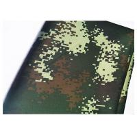 China 200 GSM Camouflage Print Fabric Shrink Resistant 21X21 Yarn Count Odor Free wholesale