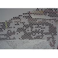 China Contemporary 2mm / 4mm Engraved Perforated Aluminum Panels With PVDF Coating wholesale