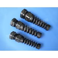 China Cable Gland IP68 Polyamide (Nylon) with Bend Flex Strain Relief on sale
