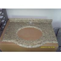China Natural Stone Granite Countertops , Giallo Santa Cecilia Custom Granite Countertops wholesale