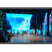 Quality 1000 Nits Indoor Rental LED Display HD P3.91 Color Calibration Meanwell Power for sale