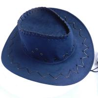 China Child And Adult Suede Cowboy Outdoor Boonie Hat , Waterproof Promotional Bucket Hats wholesale
