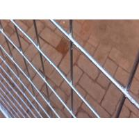 China Hot Dipped Galvanized Steel Temporary Fencing With 38MM Pipe Plastic Foot wholesale