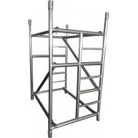 Buy cheap Lightweight Adjustable Galvanized Steel Scaffolding Of The Working Platform from wholesalers