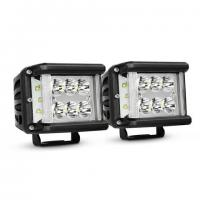 China Work Light CREE LED Off Road Driving Light 2 X 45W Side Shot Pod Cubes For Vehicle wholesale