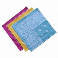 China Light Color Bandana, Designed for High Level of Comfort and Protection from Elements wholesale