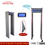 China Adjusted Sensitivity XST - F18 Walk Through Metal Detector Rental LCD Screen wholesale