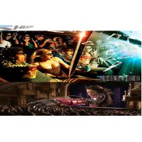 China 6D Cinema Movie Theater With 3D Glasses, Rain, Wind, Lightning Special Effect System wholesale