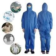 China High Safety Disposable Medical Protective Suit Waterproof High Structure Strength wholesale