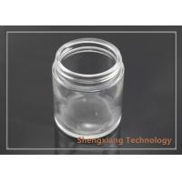 Quality 3.5 oz Straight Sided Clear Glass Bottles Glass Cookie Jars D60mm×H68mm for sale