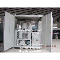 Buy cheap High Vacuum Transformer Oil Purification Plant   Dielectric Oil Filtration System ZYD-100 from wholesalers