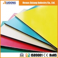 China Mould Proof 1220mm 4mm Wooden Aluminum Composite Panel wholesale