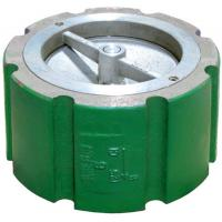 China Single Disc Wafer Check Valve Short Pattern PTFE Seat Tight Shut Off Hastelloy Alloy 20 Monel wholesale