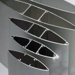 China Anodize  Aluminium Extrusion Profiles Fans , Extrusion Aluminum Airfoil Blade wholesale