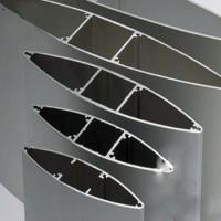 China Anodize  Aluminium Extrusion Profiles Fans , Extrusion Aluminum Airfoil Blade wholesale