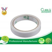 China Extra Strong White Double Side Tape 50M Length With Pressure Sensitive Tape wholesale
