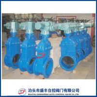 shengfeng brand ductile iron bs5163 Z945X-16Q Electric cast iron DN50 gate valve