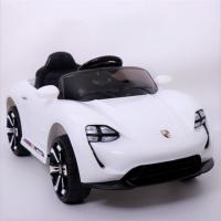 Quality Rechargeable Black color Kids Toy car 6V4ah*2 Electric Ride On Car for sale