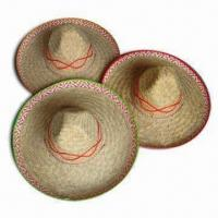 China Hawaiian Straw Hat, Available in Adult Sizes and Various Colors wholesale